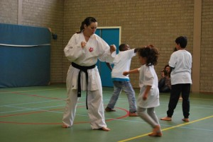 Workshop Karate door Lindsey Weerdenburg(1)